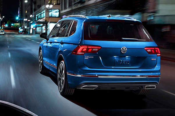 2020 Volkswagen Tiguan Engine & Safety Specs