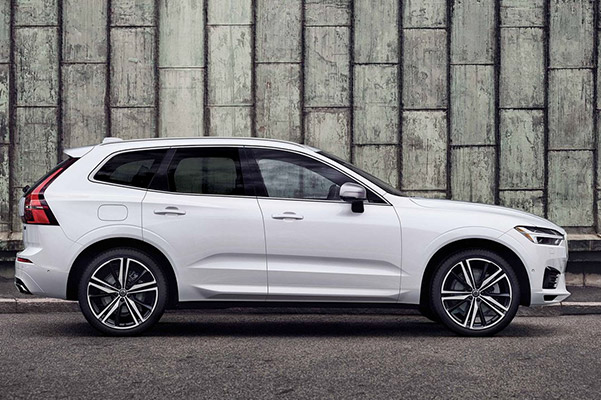2020 Volvo XC60 rear space