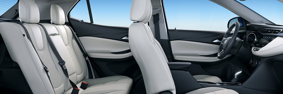 All New 2020 Buick Encore GX interior