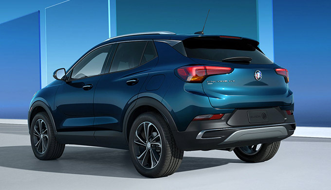 All New 2020 Buick Encore GX REAR DESIGN