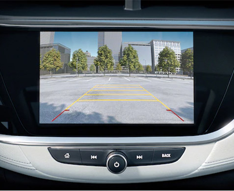 All New 2020 Buick Encore GX rear view camera