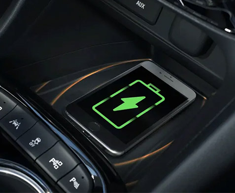 All New 2020 Buick Encore GX WIRELESS SMARTPHONE CHARGING
