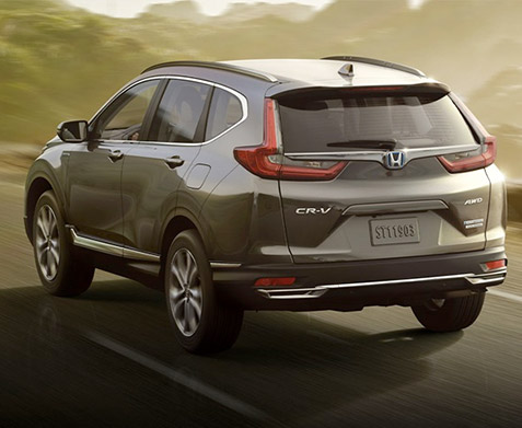 2020 Honda CR-V Hybrid rear view