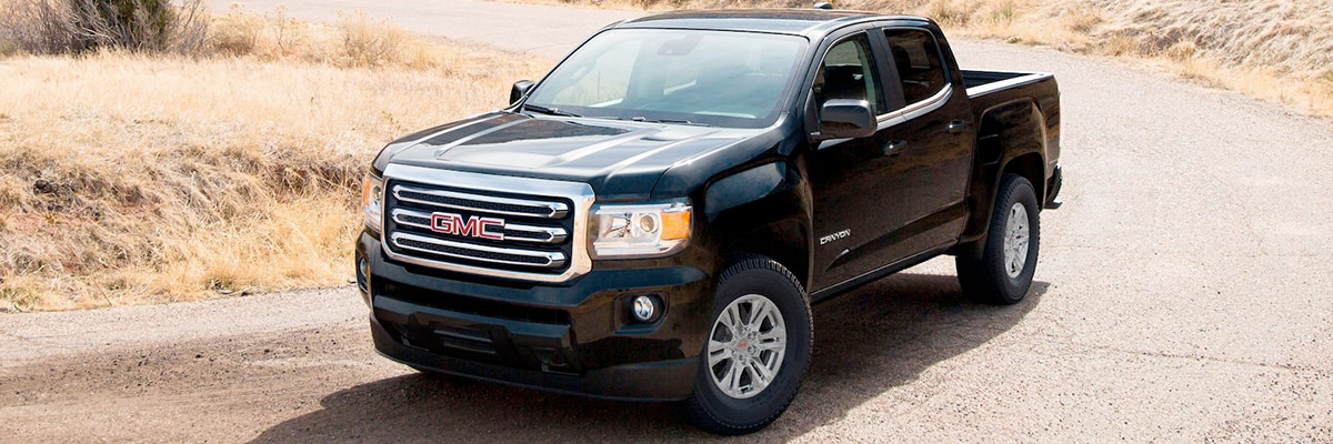 2021 GMC Canyon footer