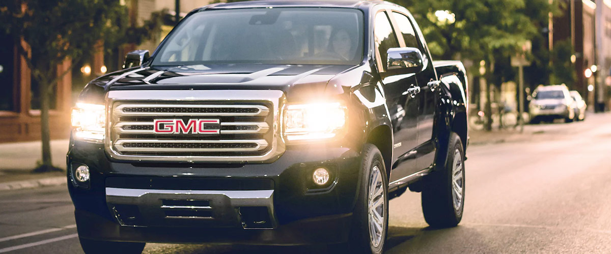 2021 GMC Canyon header