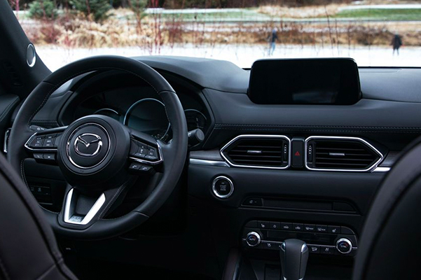 2021 CX-5 interior dashboard