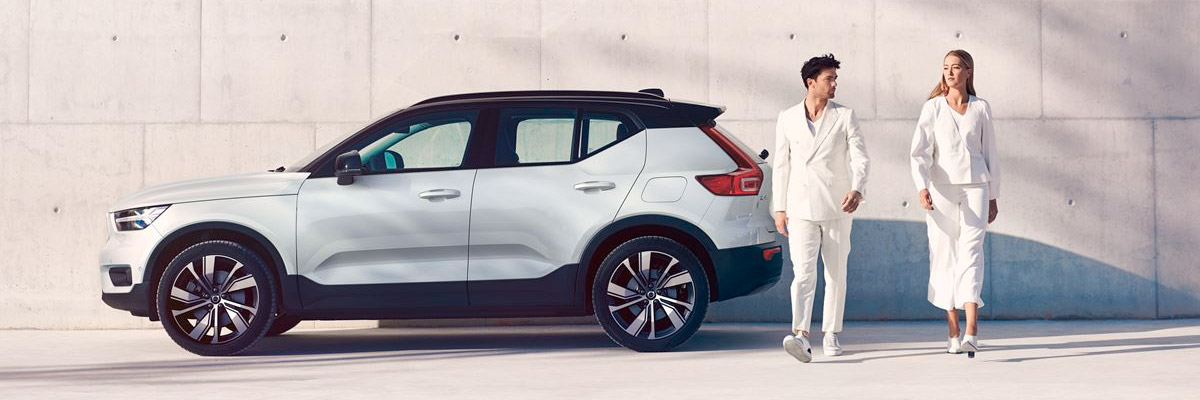 THE NEW 2020 VOLVO XC40 RECHARGE footer