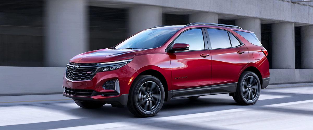 2021 Chevrolet Equinox header