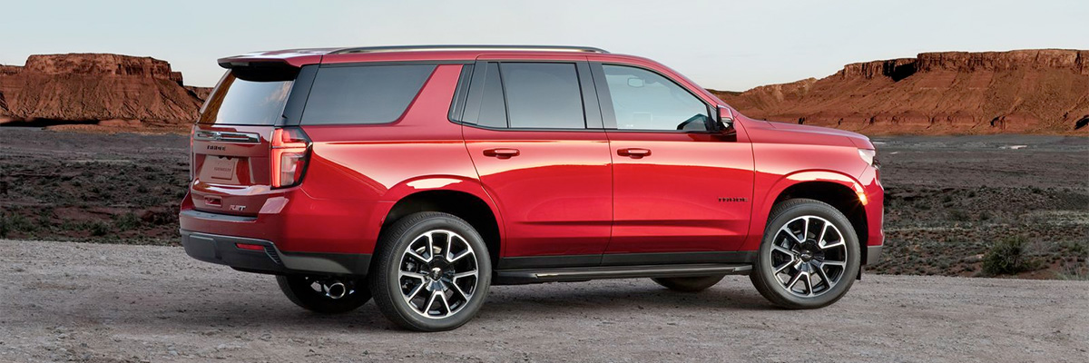 2021 Chevrolet Tahoe footer