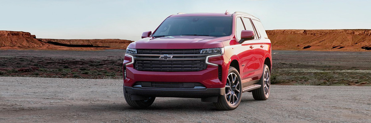 2021 Chevrolet Tahoe header