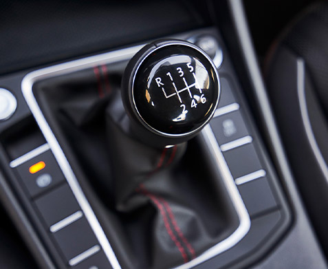 6-speed manual transmission.