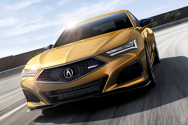 Acura TLX 2021 Type S in Tiger Eye Pearl