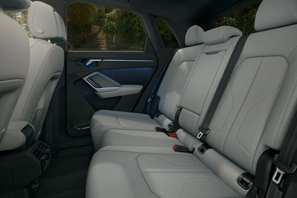 2021 Audi Q3 Interior back seats