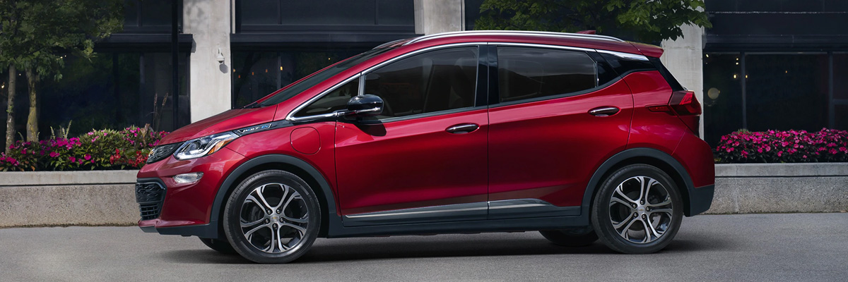 2021 Bolt EV Electric Car Exterior Photo: Side Profile