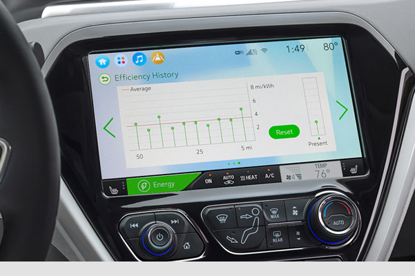 2021 Bolt EV Electric Car: Dashboard