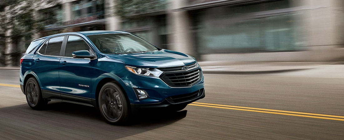 2021 Chevy Equinox Driving on road