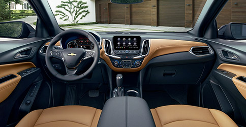 2021 Chevy Equinox Dashboard