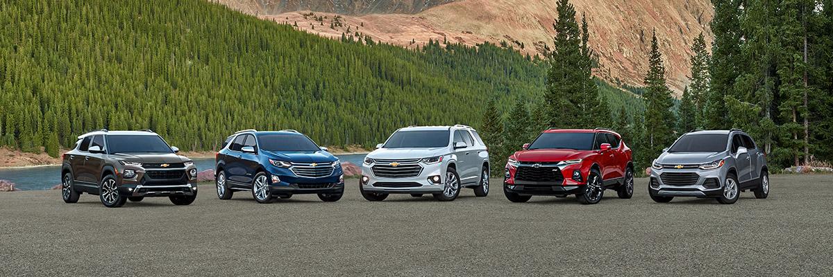 2021 Chevrolet lineup