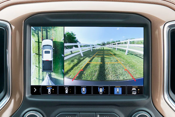 2021 Chevy Silverado 1500 Towing camera