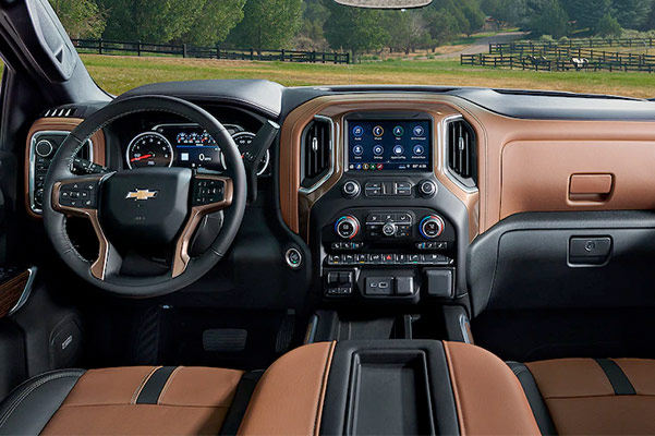 2021 Chevy Silverado 1500 dashboard