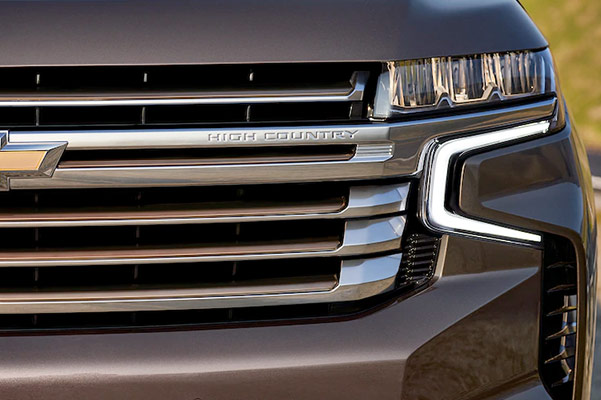 2021 Tahoe Exterior Grille