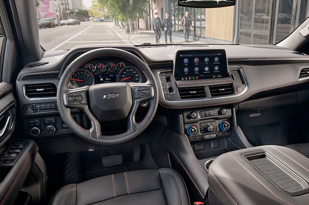2021 Tahoe Interior Front Dashboard
