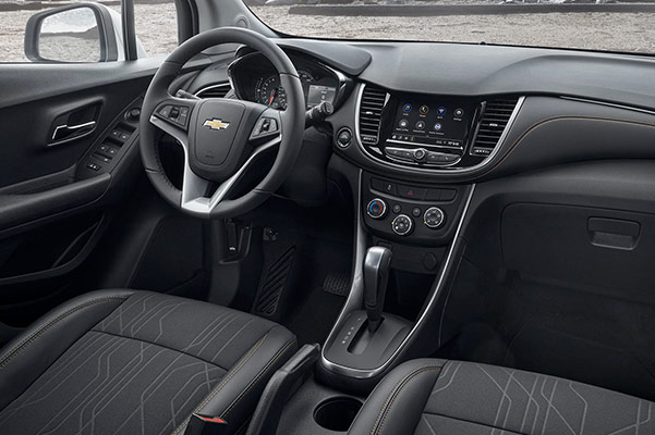 2021 Chevy Trax dashboard