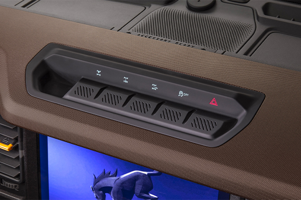 Available hero switch pack in 2021 Ford Bronco
