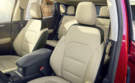 seating options for 2021 Ford Escape
