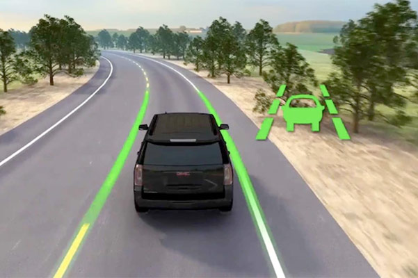 2021 GMC Acadia Lane assist technology