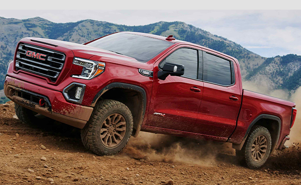 2021 GMC Sierra 1500 AT4 Off-Road Truck with 2-inch suspension lift