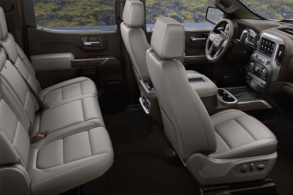 2021 GMC Sierra 1500 Pickup Truck Interior Cabin view