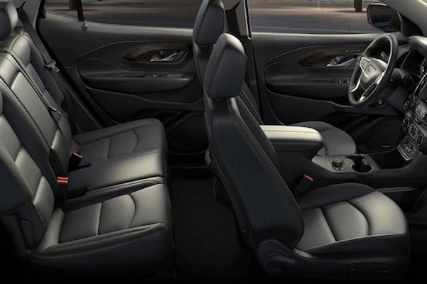 2021 GMC Terrain Small SUV Front-to-back Flat Load Floor