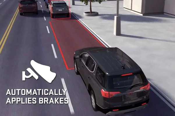 2021 GMC Terrain Small SUV with Automatic Emergency Braking