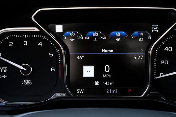 Digital dashboard display
