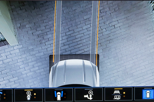 Class-leading Multicolor 15-inch Head-Up Display - High Definition Surround Vision