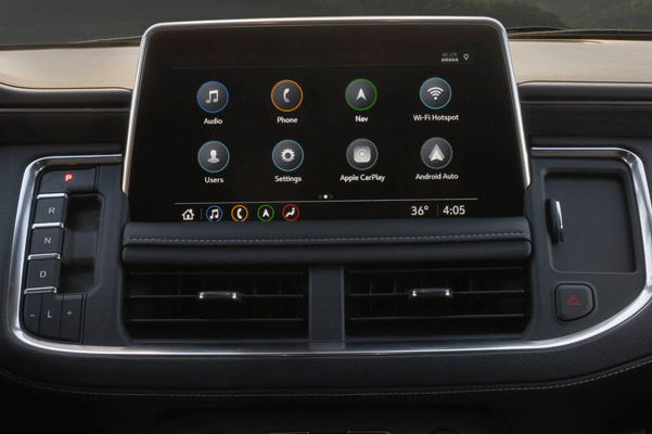 Class-leading Multicolor 15-inch Head-Up Display