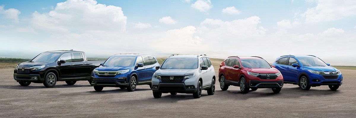 2021 Honda Lineup