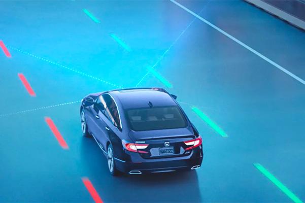 Honda lane sensing