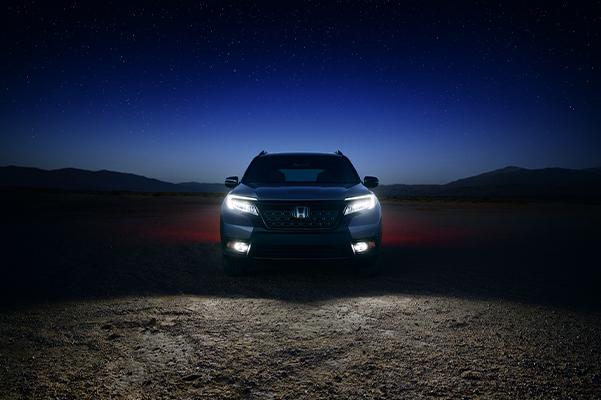 2021 Honda Passport head lights