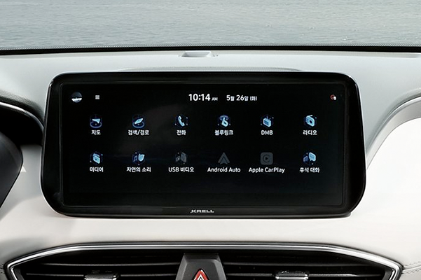 10.25 inch touchscreen Display