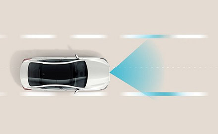 illustration featuring Hyundai Driver Attention Warning