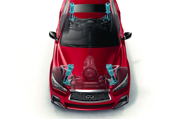 2021 INFINITI Q50 with dynamic digital suspension