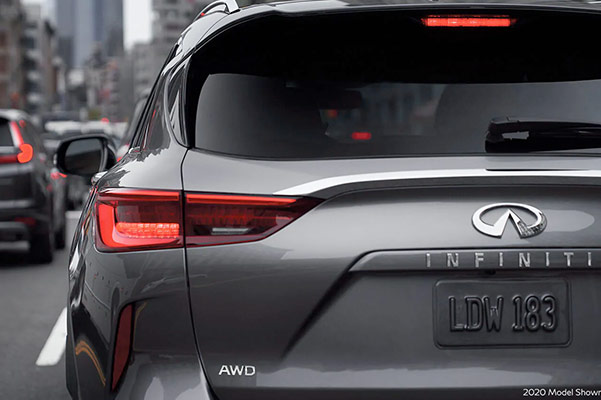 2021 INFINITI QX50 rear lights