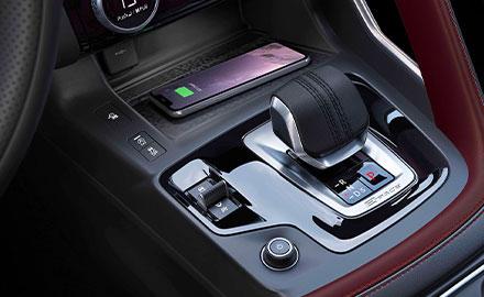 Jaguar E-PACE Wireless Device Charging.