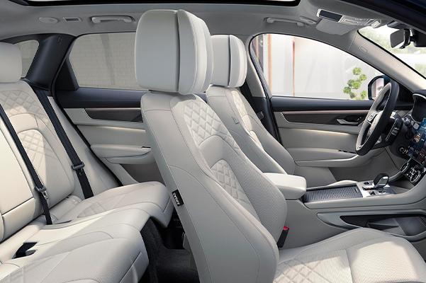 2021 Jaguar F-PACE Spacious Interior.