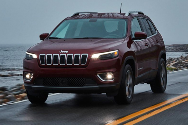 The 2021 Jeep® Cherokee offers newly standard safety and security features like Blind Spot Monitoring with Rear Cross Path Detection and Forward Collision Warning with Active Braking.