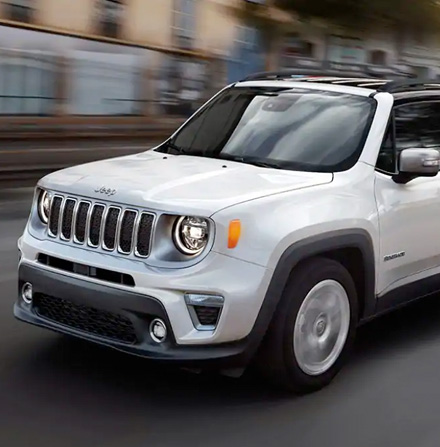 2021 Jeep Renegade white