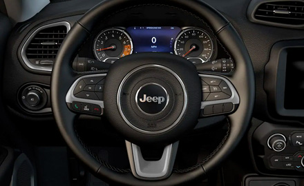 2021 Jeep Renegade Streeing wheel