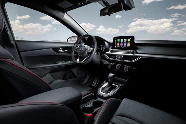 2021 Kia Forte interior dashboard